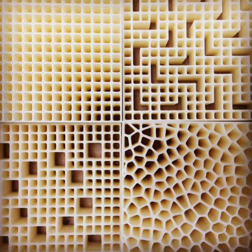 3D Printed Honeycomb Structures