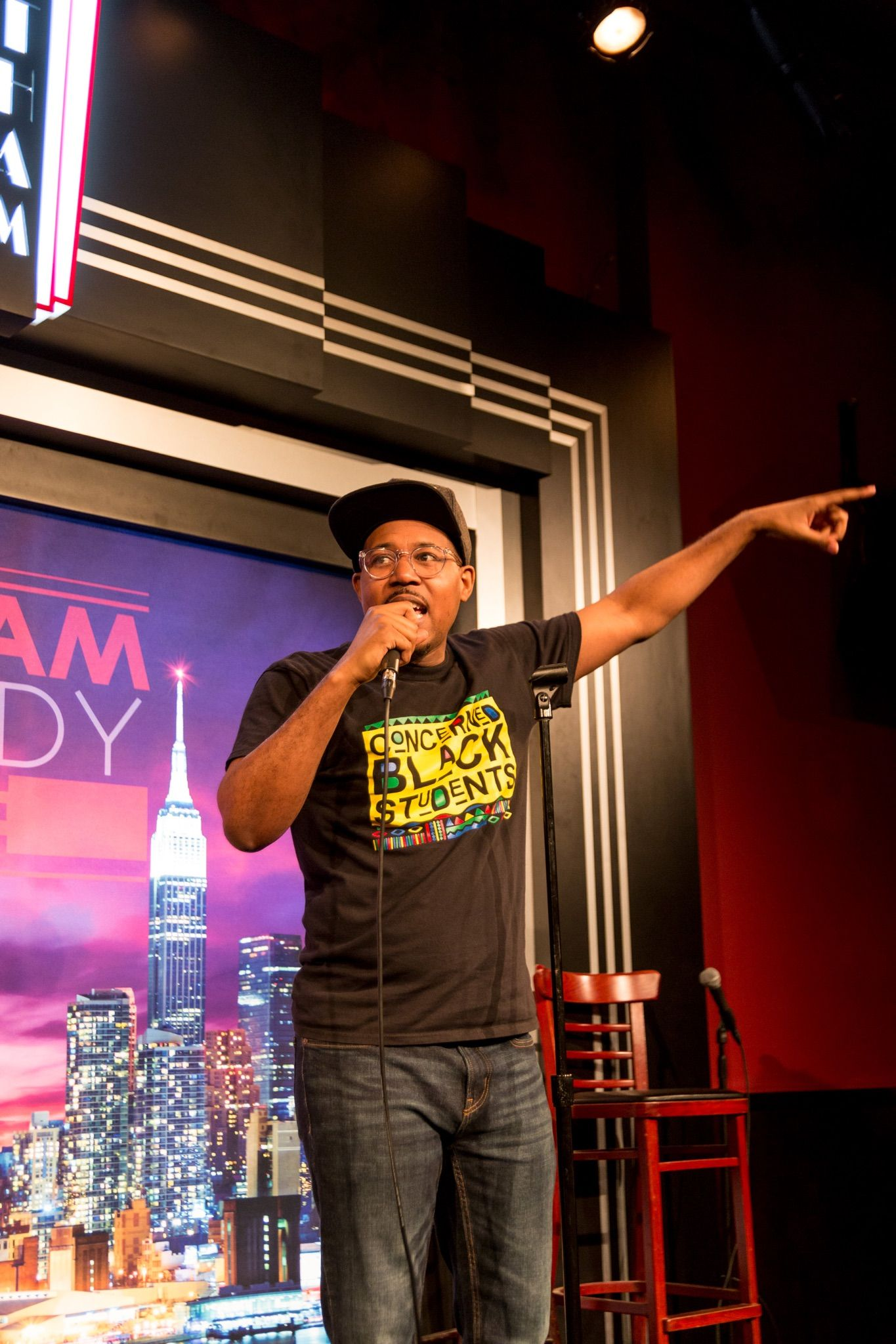 Alvin Irby at NYC's Gotham Comedy Club