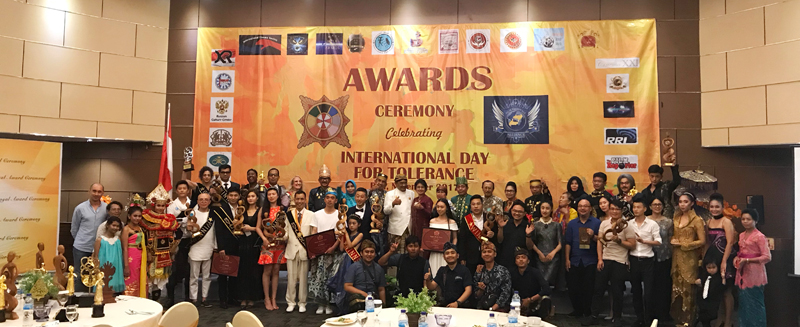 Awards Ceremony ISENMA 2017 Celebrating International Day for Tolerance