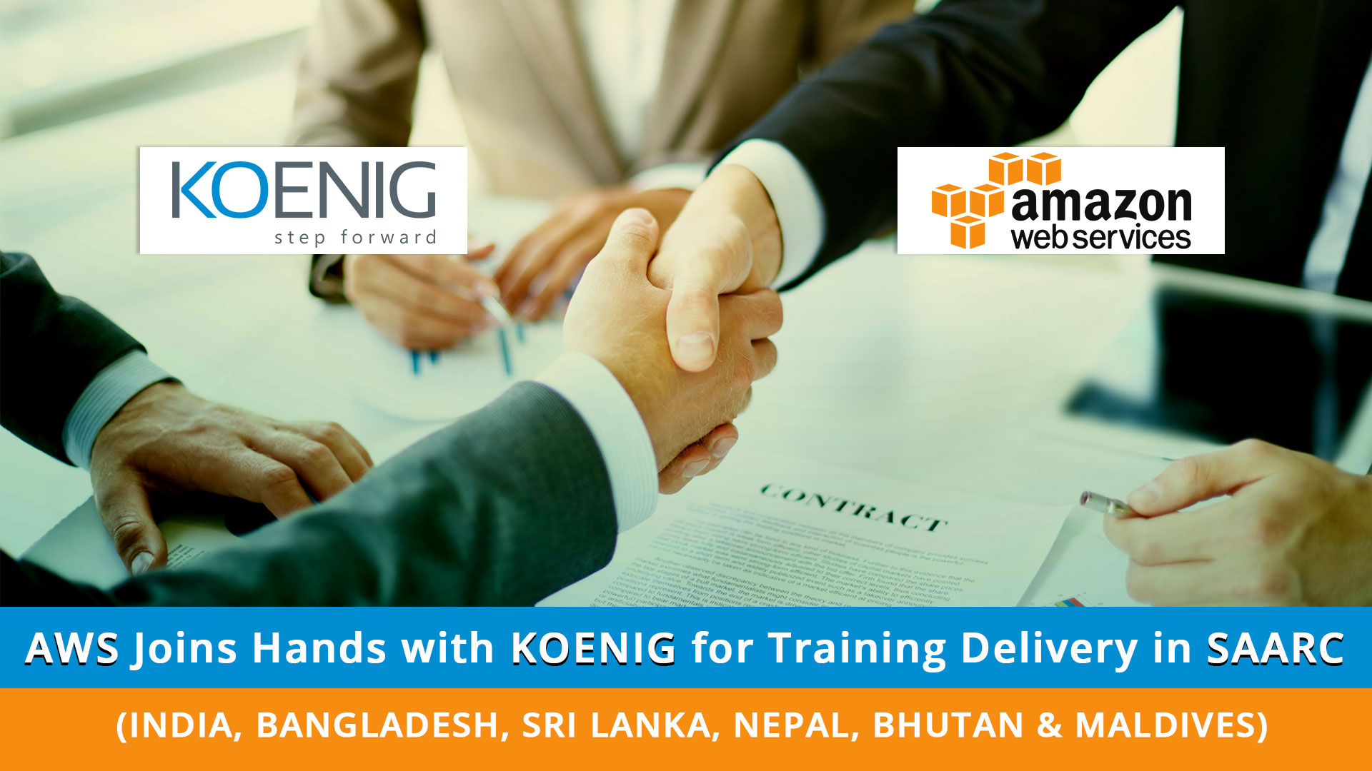 AWS Joins Hands with Koenig for Training Delivery in SAARC