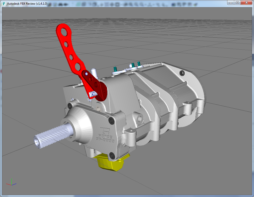 CADfix export support for Autodesk FBX