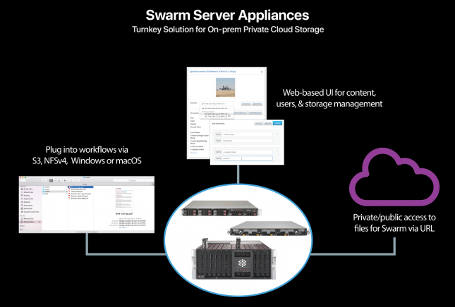 Caringo Swarm Server Diagram