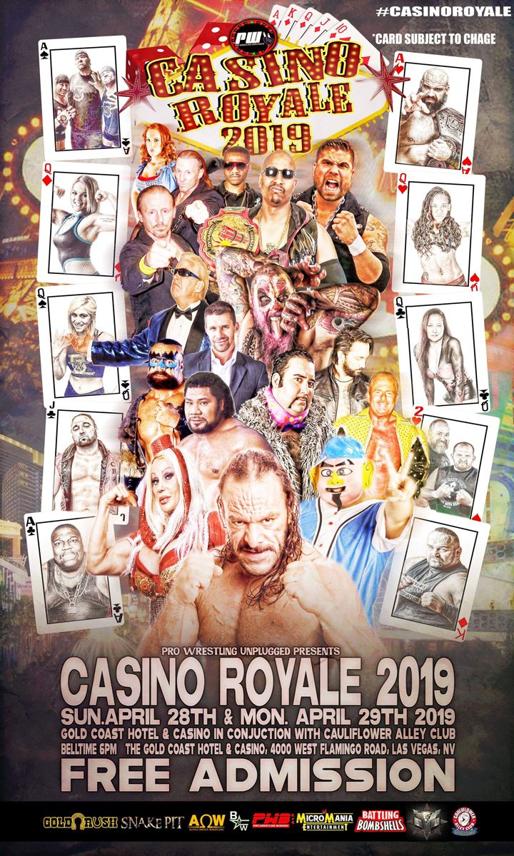 Come to Las Vegas for Live Pro Wrestling & Movie Shoot