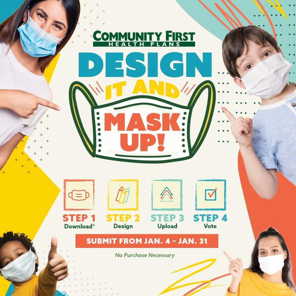 Community First Design-A-Mask Challenge