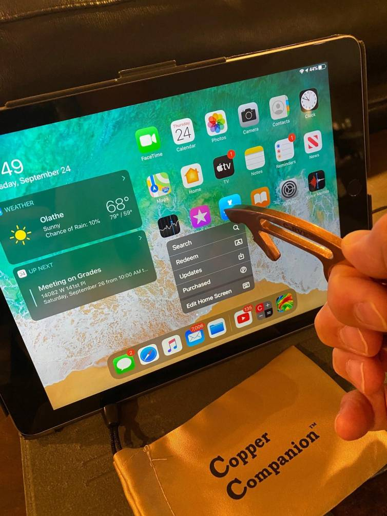 CuRVE Activating Touchscreens