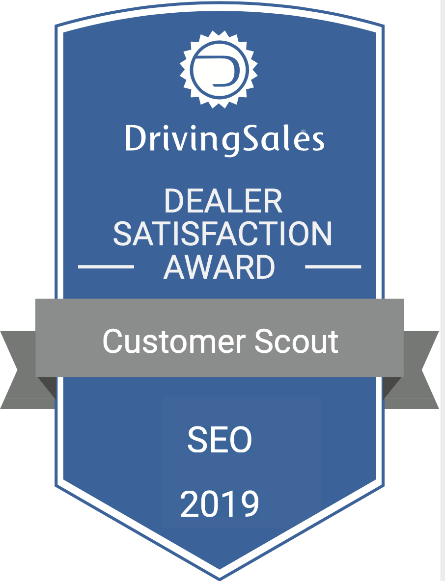 Customer Scout Seo Driving Sales 2019 Award