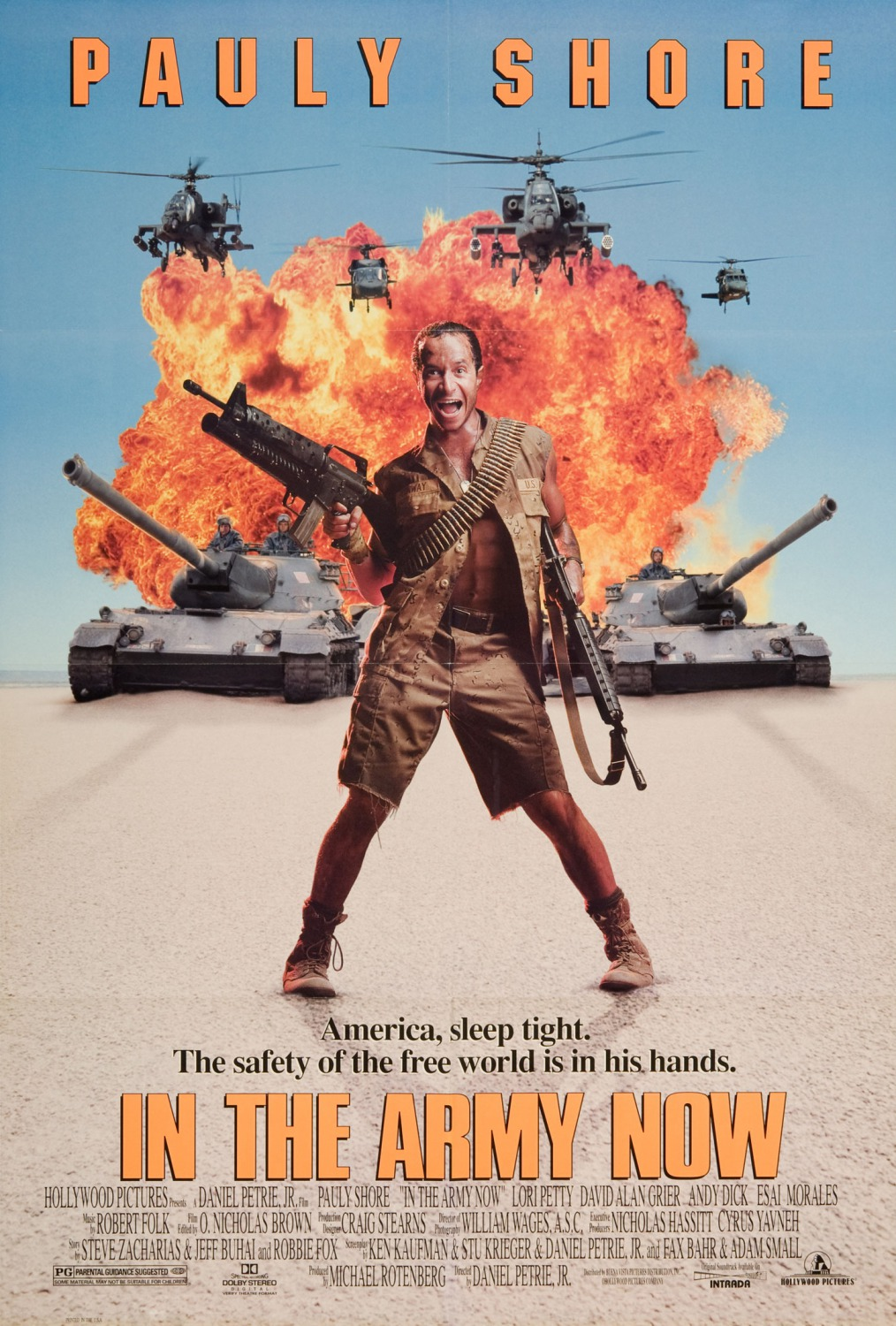 Delirious Comedy Club Presents Pauly Shore From In The Army Now