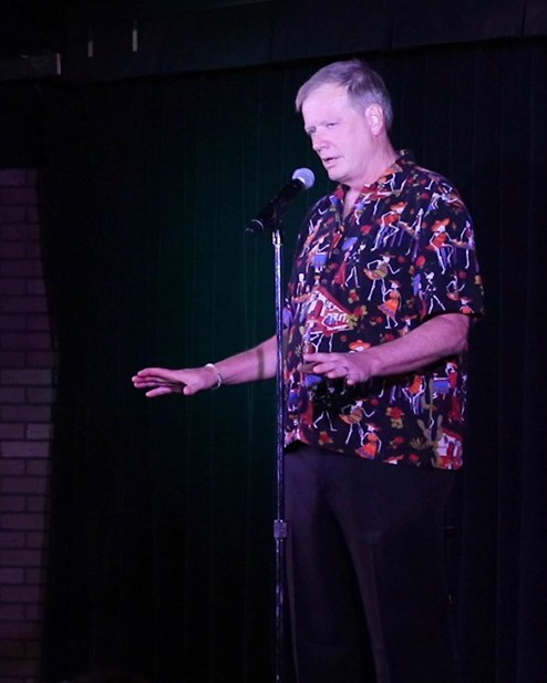 Delirious Comedy Club's House Emcee Guy Fessenden