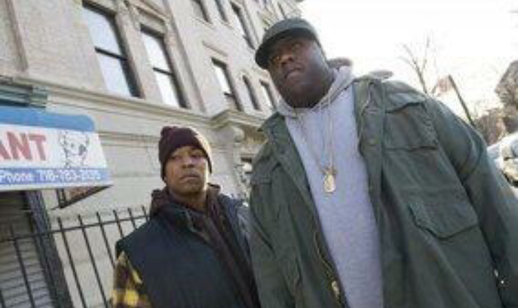 Dennis as Damion 'D-Roc' Butler in the Notorious B.I.G. biopic, Notorious