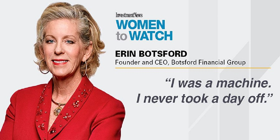 Erin Botsford-Investment News-Woman to Watch