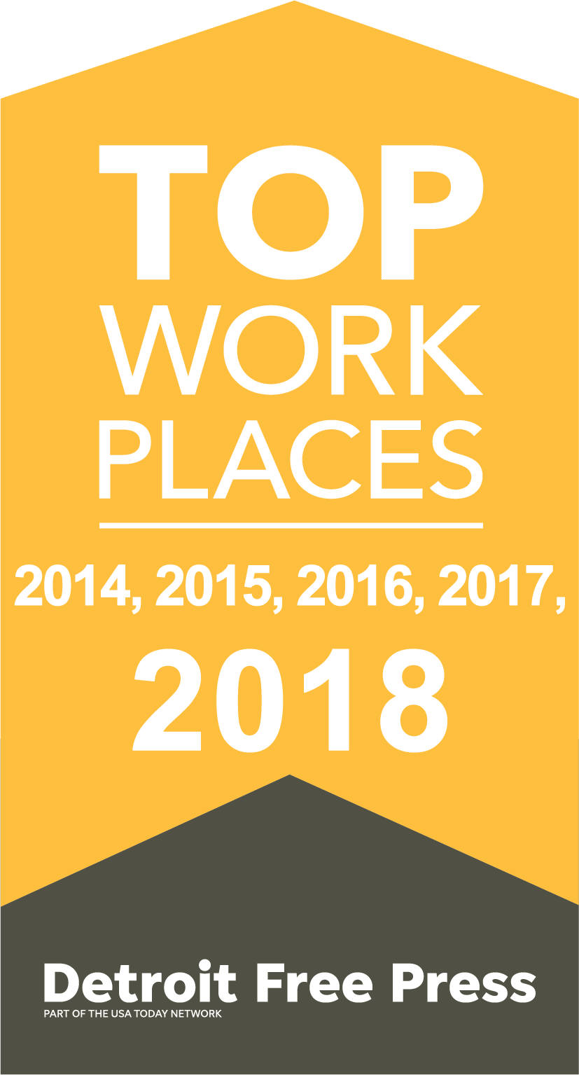 Esys Automation receives Detroit Free Press 2018 Top Workplaces Award.