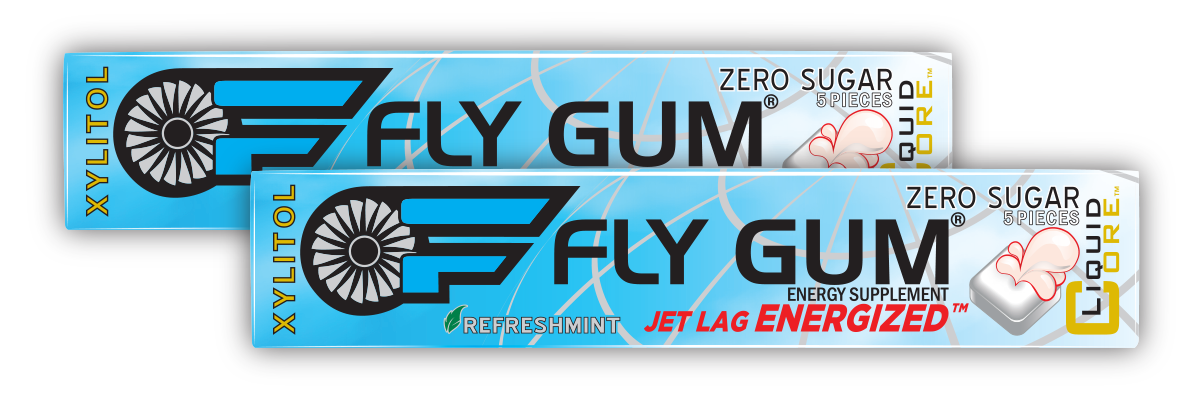 FLY GUM Retail Packs