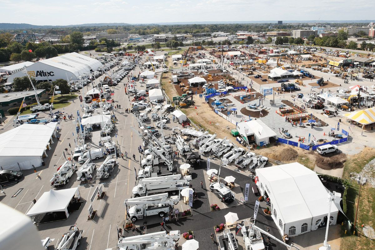 ICUEE 2017 Outdoor Exhibits Aerial View
