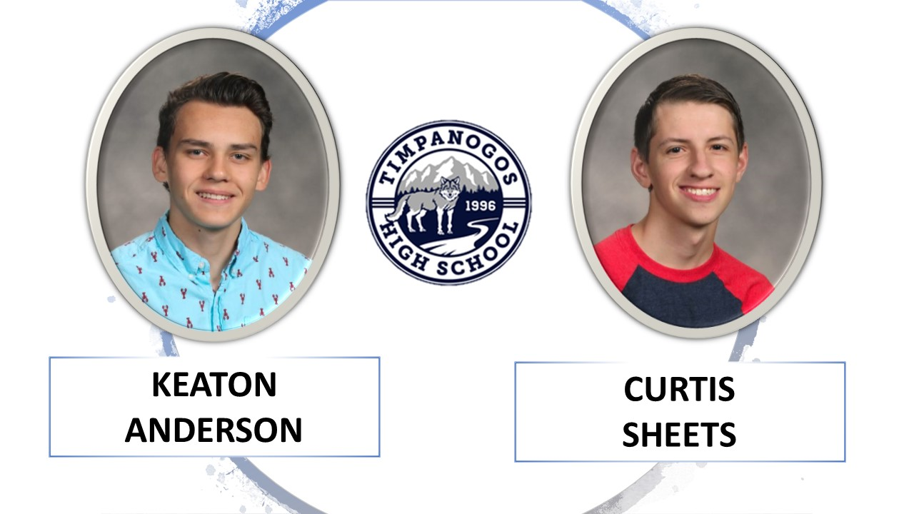 Keaton Anderson and Curtis Sheets THS Scholarships