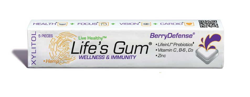 Life's Gum®, made in Denver, Colorado USA