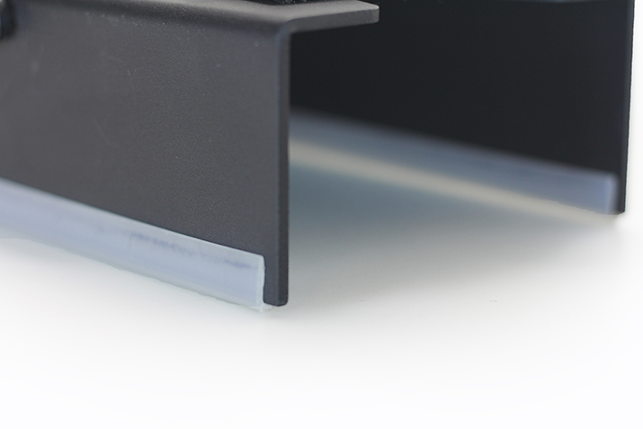 Lightweight aluminum construction & polyethylene sliders won't damage concrete