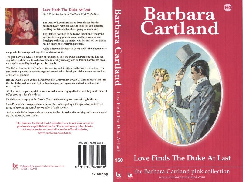 Love Finds The Duke At Last cover