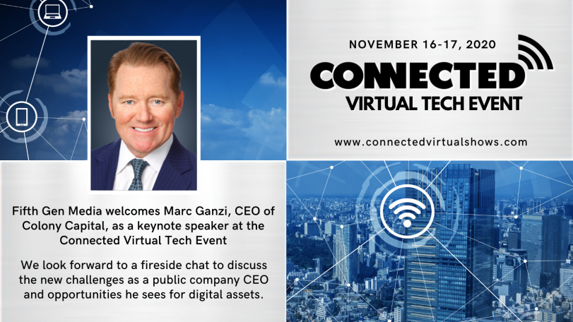 Marc Ganzi to Keynote the Connected Virtual Show
