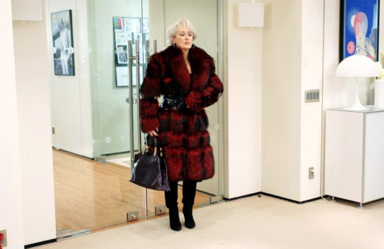 Meryl Streep wearing Izzy Camilleri in The Devil Wears Prada (2006)