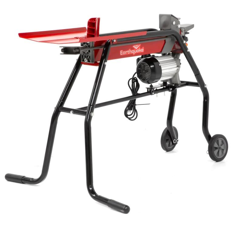 New Earthquake 5-Ton Electric Log Splitter: Compact and New Convenience Features