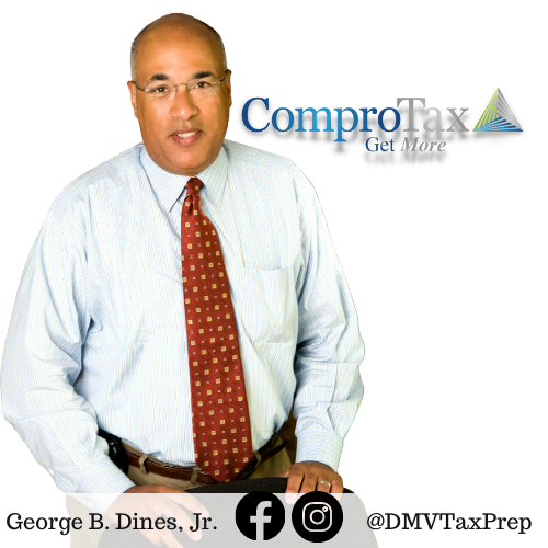Owner, George Dines, ComproTax of Washington D.C.