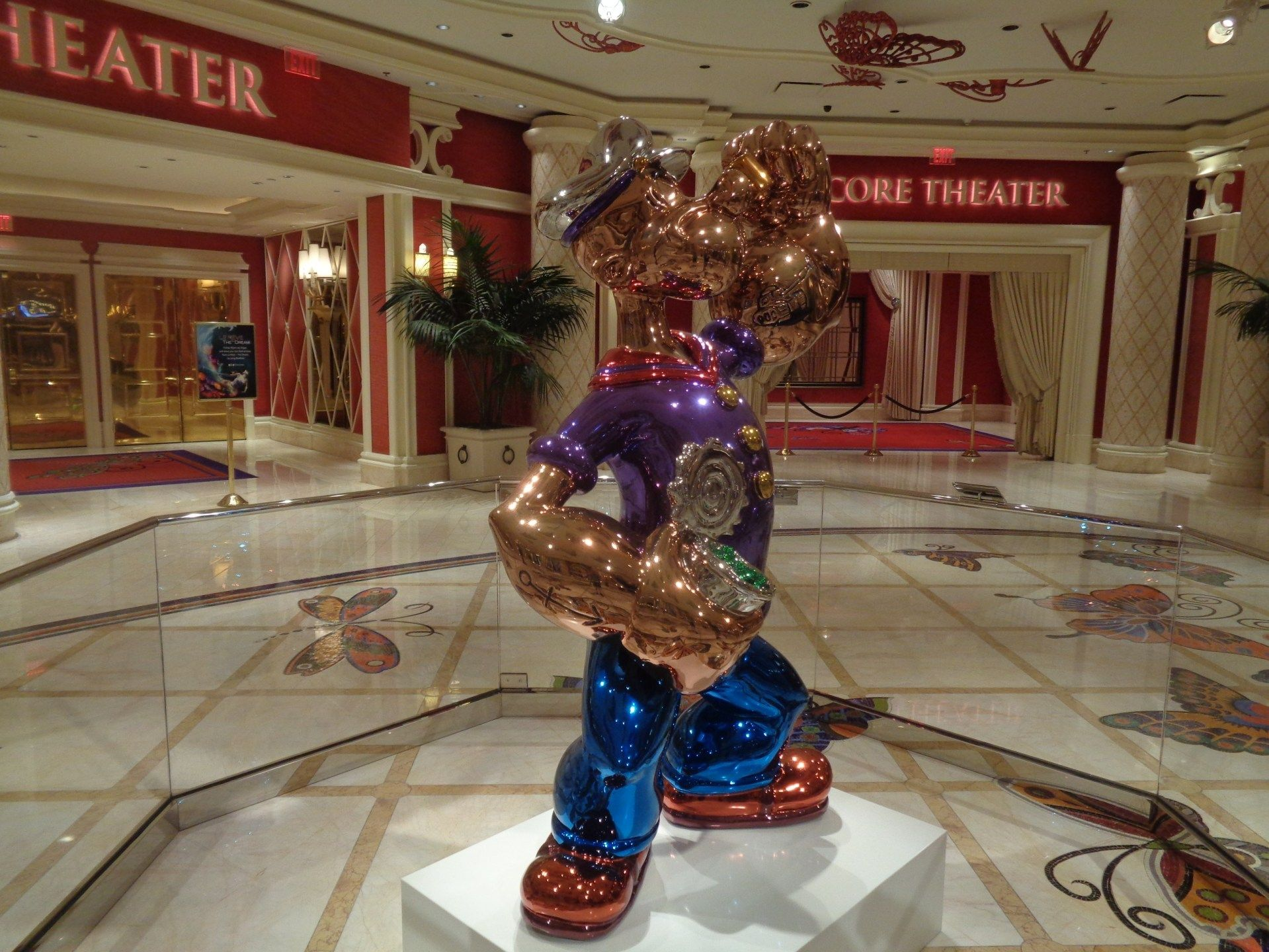 """Popeye"" sculpture by Jeff Koons sold for $28 million"
