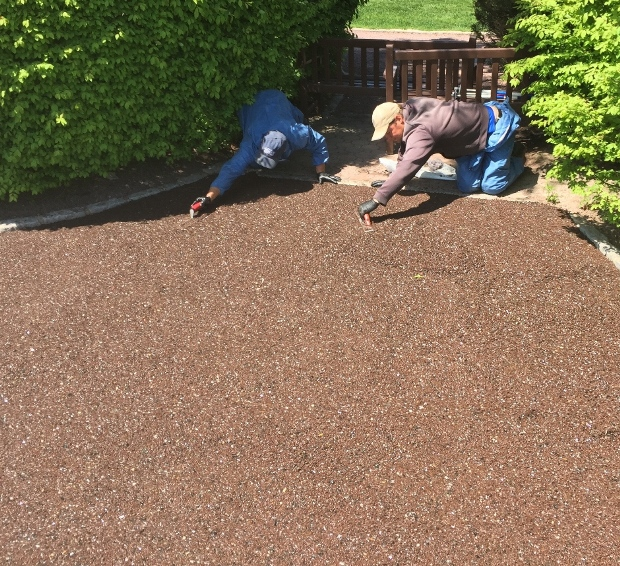 Porous Pave: Easy to Install... Mix on Site, Pour in Place