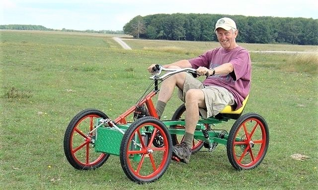 Quadricycle Four Wheel Bike tumtumcar