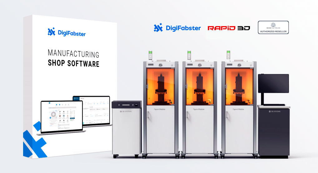Rapid 3D and DigiFabster sign reseller agreement