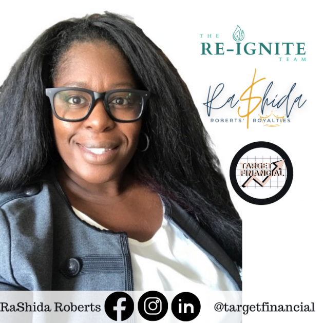 RaShida Roberts Founder of Target Financial