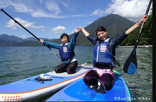 SupSup! Nikko Paddle Boarding on Lake Chuzenji