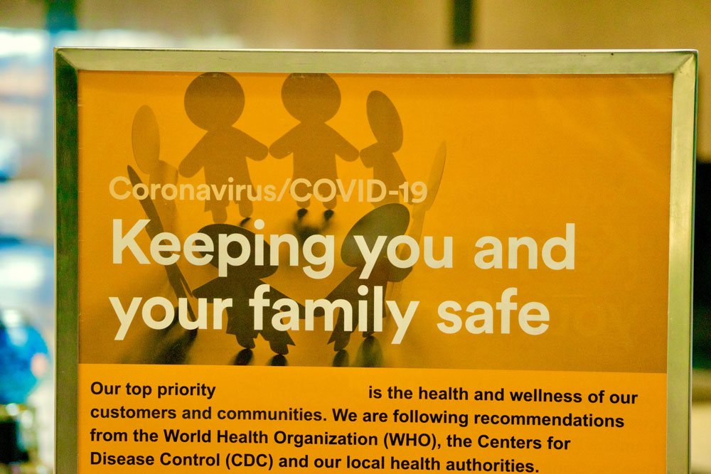 The Coronavirus Covid 19 Pandemic Is Closing Store