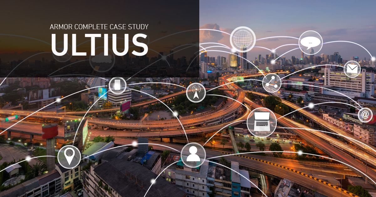 The Ultius case highlights security as the foundation for high-quality service.