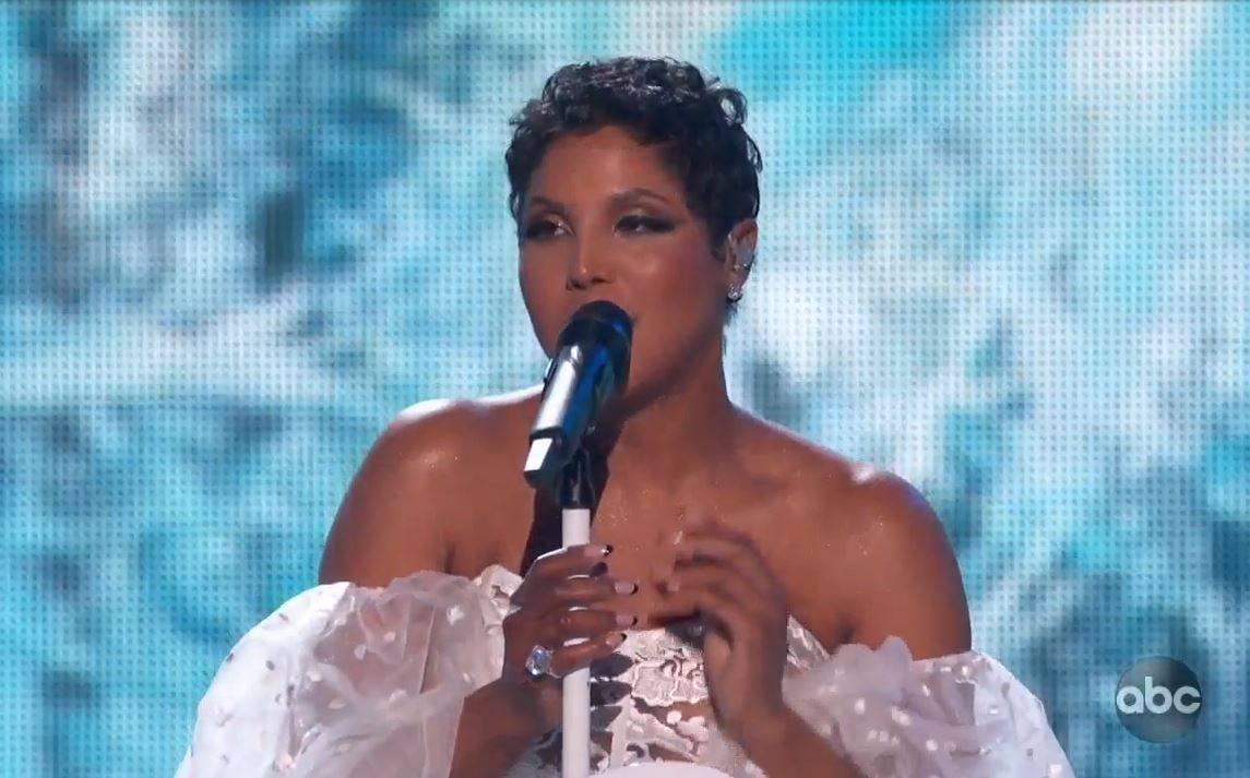 Toni Braxton 27 carat diamond ring