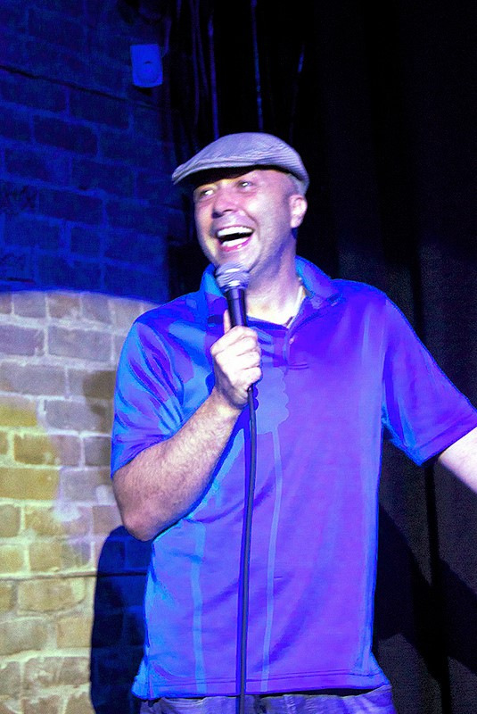 UK Comedian Steve Hirst at Delirious Comedy Club