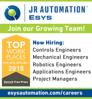 We are hiring for numerous positions! www.esysautomation.com/careers