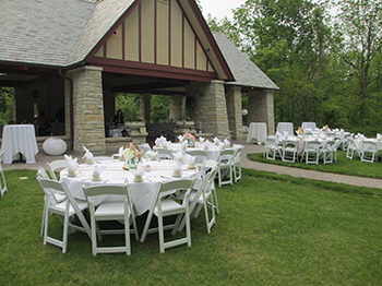 We offer off-site service for weddings, celebrations, and corporate events.
