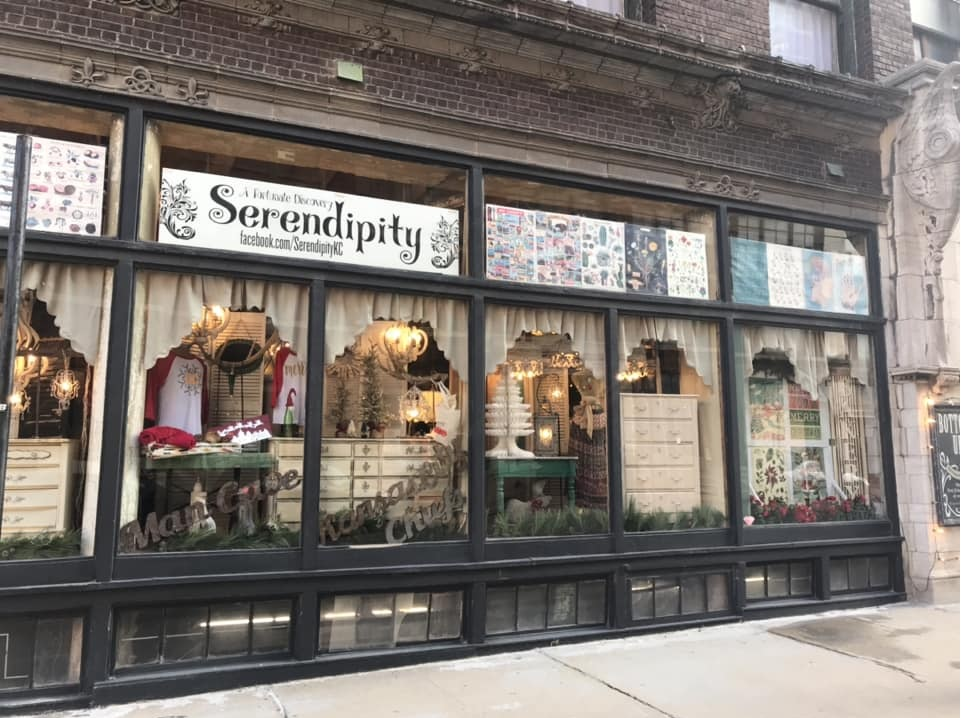 West Bottoms store fronts - shop vintage, antiques, and more